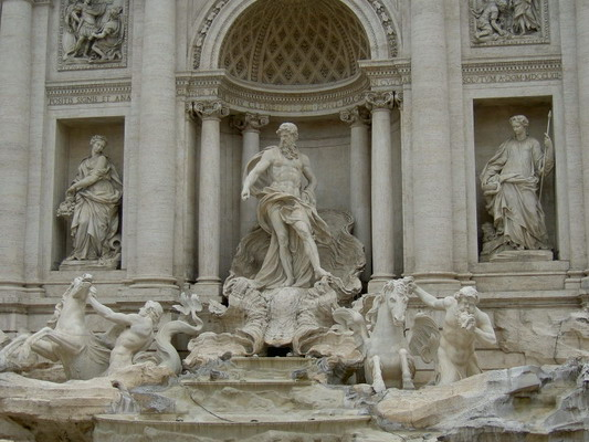 Fontana di Trevi de Nicola Salvi