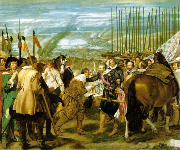 La rendición de Breda de Velázquez