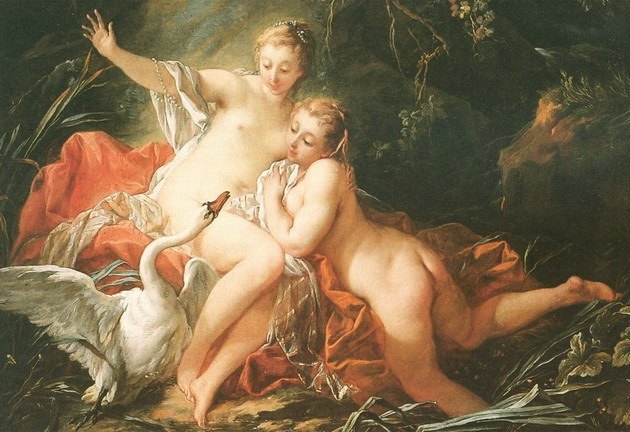 Boucher El Bano De Diana.Francois Boucher Historia Del Arte