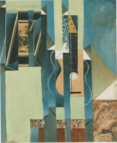 Juan Gris: Guitarra